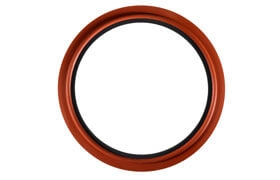 Co-molded perfluoroelastomer seals